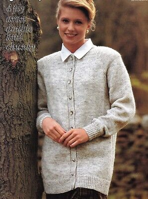 "1552a6a8cf5bc STYLECRAFT 4PLY KNITTING Pattern 8297 Ladies Slipover 32""-46"" (2770 ..."