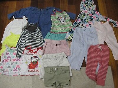 Bulk 14 items - Baby Girl Size 2 (Country Road, Bonds, PureBaby, Target, Sprout)