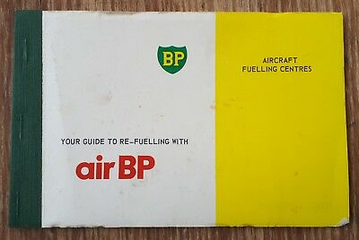 Old 1978 Air BP Airport Fuelling Guide – Advertising, Petrol, Oil, Aviation