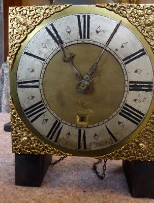 """Longcase Clock by """"W.HELLYOR of S MOULTON"""" for Restoration.18th Century 30 Hour"""