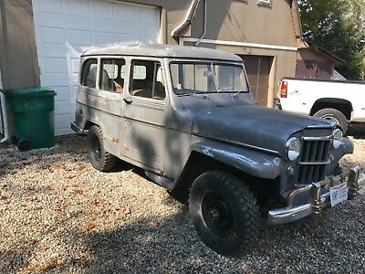 1957 Willys 439  1957 willys jeep wagon
