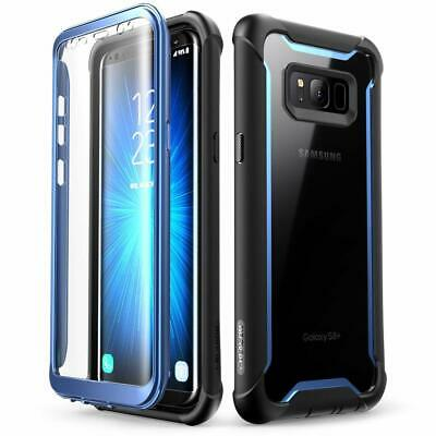 For Samsung Galaxy S8 / Galaxy S8+ Plus, i-Blason Full-Body Case Cover w/ Screen