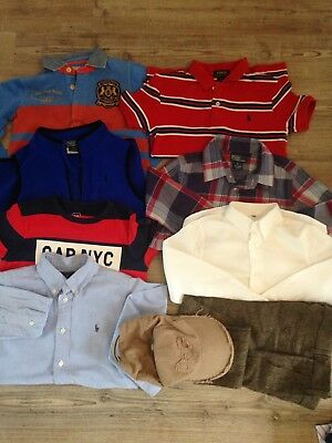 Boys Clothes 6-7 Bundle Designer Ralph Lauren Gap
