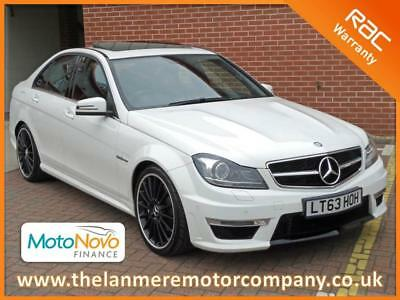Mercedes Benz C63 AMG 4dr Saloon 6.3 V8 457 bhp MCT 7G Automatic
