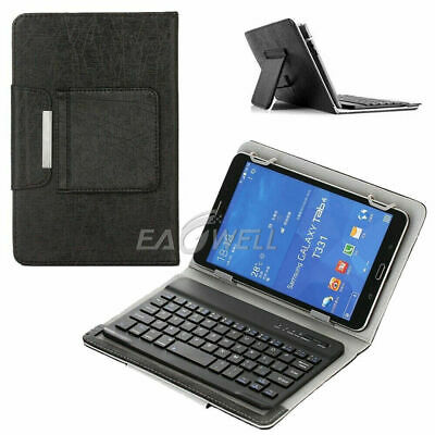 UK For Acer Iconia One 10 B3-A40 / A3-A50 Tablet Leather Case USB Keyboard Cover