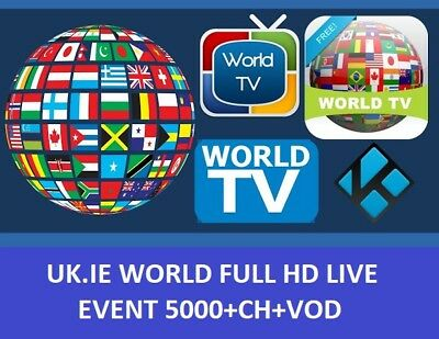 IPTV Subscription 12 Months UK MAG M3U - IOS - SmartTV Android Firestick