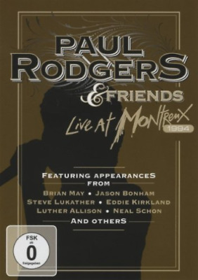 Rodgers Paul & Friends-Live At Montreux 1994 DVD NEW