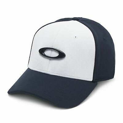 [911545-60B] Mens Oakley Tincan Cap Hat - Navy Blue White