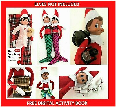 Elf Props & Accessories for on the Shelf Doll Display (FREE ACTIVITY PACK)