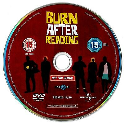 Burn After Reading (DISC ONLY) DVD Comedy