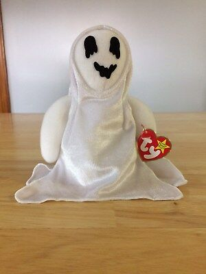 Ty Beanie Babies Sheets the Halloween Ghost, 1999 Retired