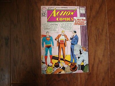 Action Comics # 288  1962 Issue 12 Cent Cover Silver Age