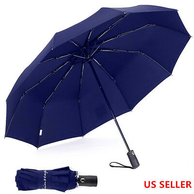 Automatic  Folding  Inverted   Compact Lightweight Windproof Travel Umbrella