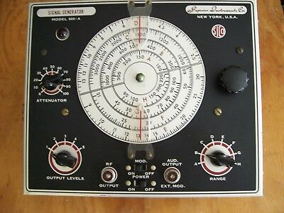 Superior Instrument Instrument Co. Model 660-A Signal Generator