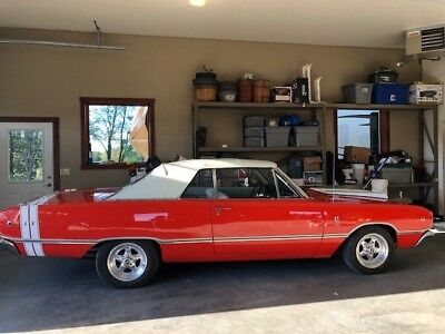 1968 Dart -CONVERTIBLE-GT-NEW INTERIOR-HEMI ORANGE-AWESOME M 1968 Dodge Dart for sale! LOW RESERVE!