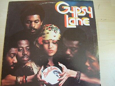 LP Vinyl: GYPSY LANE - Predictions (Drive 1978) Funk/Soul