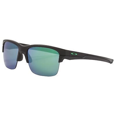 38a23a90cd Oakley Thinlink Sunglasses OO9316-09 Matte Black Frame   Jade Iridium Lens