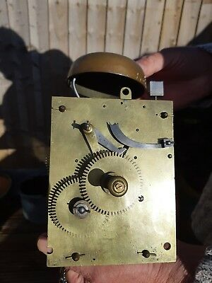 Antique longcase grandfather clock movements 30 hour  and face