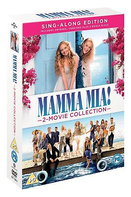 Mamma Mia! 2-Movie Collection – Sing-Along Edition (2 Bonus Discs) [DVD]