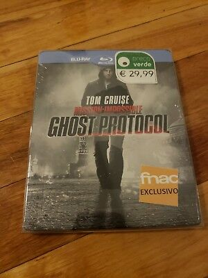 Mission Impossible Ghost Protocol Fnac Portugal Steelbook! Brand New! Rare!