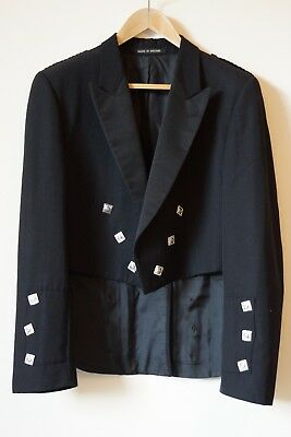 Prince Charlie kilt Jacket- Pure New Wool -Made in UK