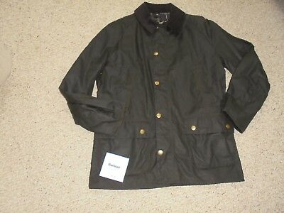 J Crew Men's  Barbour Syikoil Ashby Jacket Sz-L In Green $399