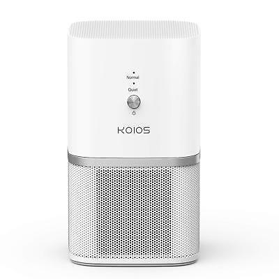 KOIOS Air Purifier Desktop Air Filtration with True HEPA Filter Compact Home ...