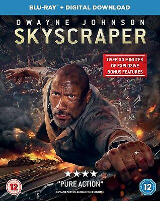 Skyscraper (with Digital Download) [Blu-ray]