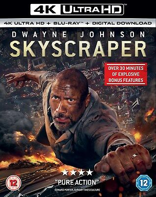 Skyscraper (4K Ultra HD + Blu-ray + Digital Download) [UHD]