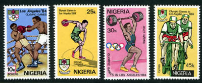 Nigeria 1984 Mnh Set Olympic Games Los Angeles
