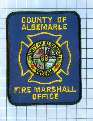 Fire Patch - ALBEMARLE Fire Marshall Virginia