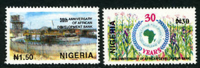 Nigeria 1994 Mnh Set African Development Bank Stamps