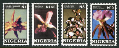 Nigeria 1993 Mnh Set Orchids, Flowers