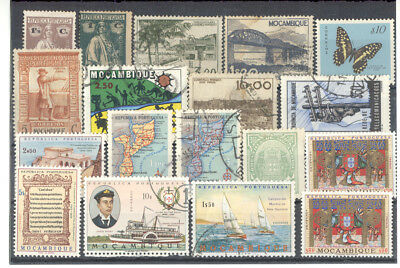 Mozambique - Nice Lot of early Stamps mint and used