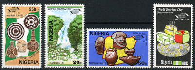 Nigeria Mnh Set World Tourism Day 1985