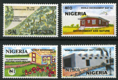 Nigeria 1993 Mnh Set World Environment Day