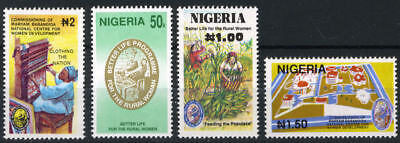 Nigeria 1992 Mnh Set Commissioning