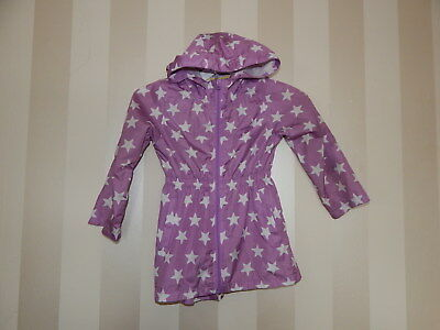 Girls ~ Parka In A Pocket ~ Size 4-5 Years  ~ Vgc ~ Ref Box A28