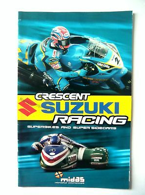 51144 Instruction Booklet - Crescent Suzuki Racing - Sony Playstation 2 (2004) S