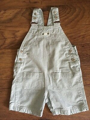 Bout'chou Vertbaudet Baby Boys Summer Short Cotton Dungarees Age 24 Mths