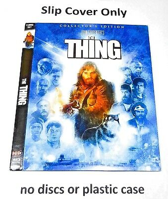 The Thing 1982 - Slip Cover Only - (no blu ray) Collectors Edition