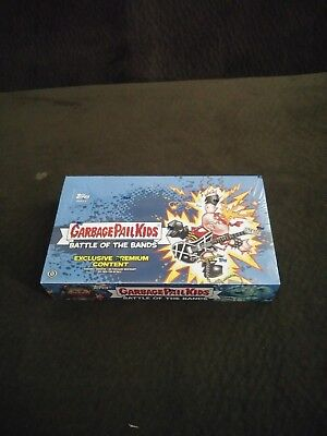 2017 Garbage Pail Kids Series 2 Battle Of The Bands Hobby Collector Edition Box