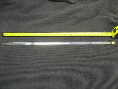 "18"" Stainless Steel Replacement Blade for Cane Sword with Fitting"
