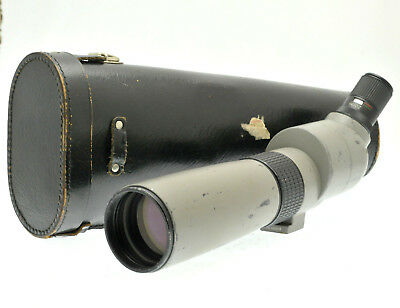 Opticron 20-60x 60 Zoom Lens spotting scope with Case - well used but very sharp