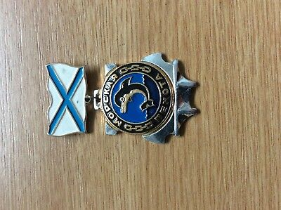 Russian Navy Infantry  Dolphin Pin Medal  Badge