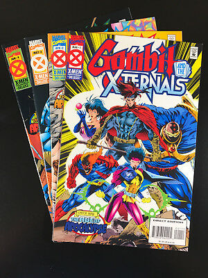 Gambit and the X-ternals 1 2 3 4 Marvel 1995 Age of Apocalypse Fabian Nicieza A6