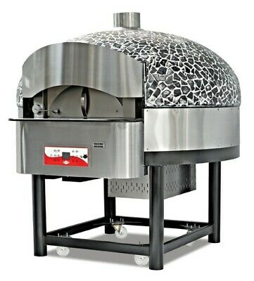 Pizza Oven, Gas, Rotating, 1965x2124x2073 mm, 48 Kw