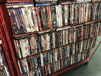 HUGE WHOLESALE LOT OF 100 DVDs! Action, horror, kids, Comedy and more!