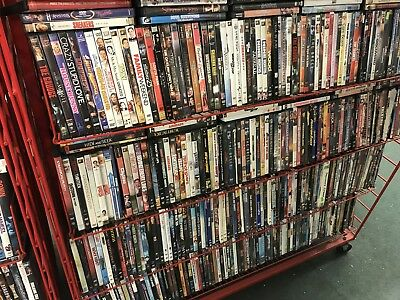 HUGE WHOLESALE LOT OF 500 DVDs! Action, horror, kids, Comedy and more!