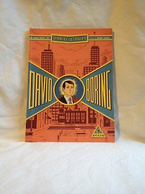 DAVID BORING - by Daniel Clowes  -  Graphic Novel - 2002 1st Print 9780224063234